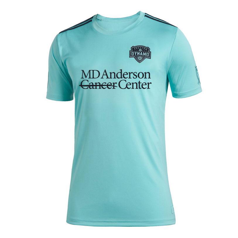 2020 MLS Houston Dynamo Mükamele Jersey futbol formaları futbol forması Mükamele futbol formaları Aktif erkekler formaları Erkek Tişörtler boyut S-4XL