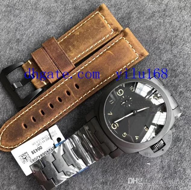 44 мм VS завод V2 версия мужские часы автоматические керамики в супер клон P9001 керамический браслет мужские спортивные наручные часы