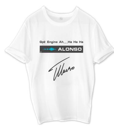 تخصيص F1 سباق الدراجات النارية دعوى دعوى تي شيرت AMG فريق مرسيدس هاميلتون قصير الأكمام ماكلارين سينا ألونسو تي شيرت تي شيرت