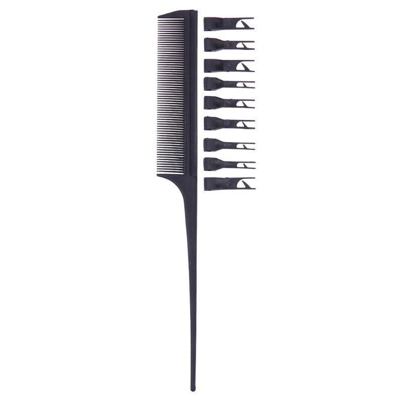 Лечение Антистатический Салон красоты Парикмахерская крашение Масло для волос расческа для укладки инструмента
