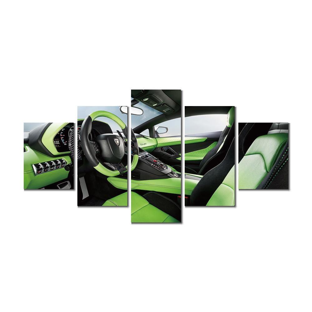 2019 Flower Art Pictures Painting Lamborghini Aventador Lp Auto Salon  Modern Canvas Picture Home Wall Decor From Kyrre, $15.08   DHgate.Com