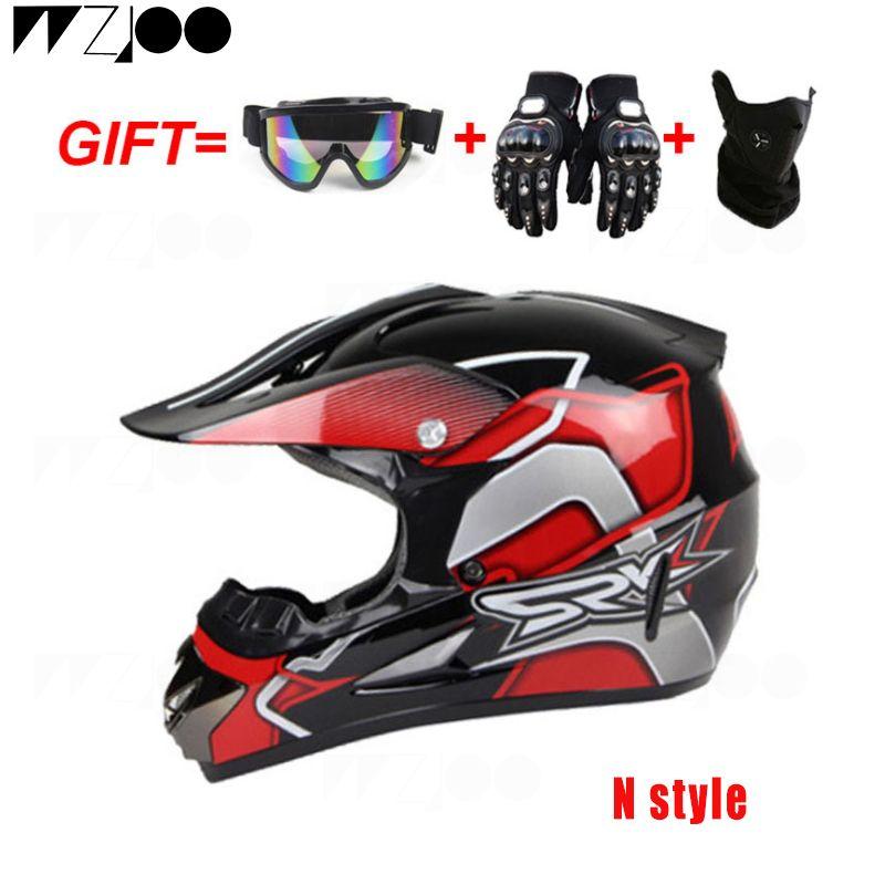 Yeni Motosiklet Kaskı Erkekler Tam Yüz Kask Moto Binme ABS Malzeme Macera Motokros Kask Motosiklet DOT Sertifikası