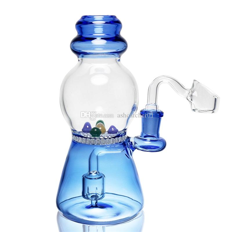 3 tipos de vidro de cor bong colorido filtro de favo de mel 7,2 polegadas tubulação de água 14,5 milímetros feminino DAB transporte livre