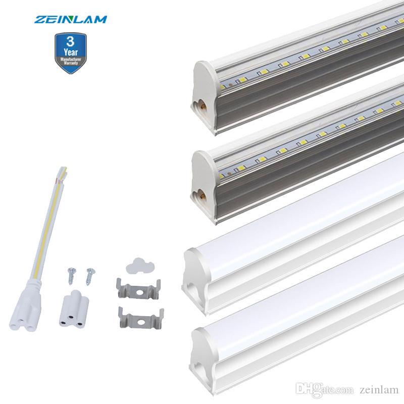 T5 작업 가게 주차장 LED 전구에 대한 주도 숍 라이트 LED 천장 빛과 T5 튜브 조명기구를 통합