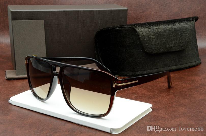 Kutu Üst Güneş Lensler Casual Kişilik Güneş Gözlüğü Tom Adam Ile Kadın Gözlük Tasarımcı Marka Moda Kalite Ford Yeni Gözlük 2019 51 DUUC