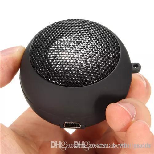 Mini speakers Hamburg Card Speaker Phone Computer Speakers MP3 Player Foldable Speaker Support Music Louder Speaker Cheap
