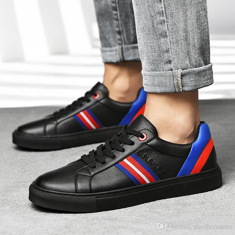 أحذية 2019 أزياء G.N.SHIJIA مصمم جديد جودة عالية الأسود الأزرق الأبيض النساء الرجال عارضة الرياضة مدرب حذاء رياضة