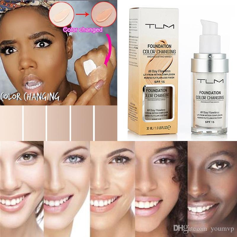 Magical Flawless Colour Color Changing Foundation TLM