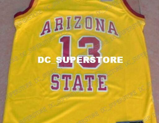 lowest price 24067 6cc21 Cheap Custom James Harden #13 Arizona State Jersey YELLOW Stitched  Customize Any Number Name MEN WOMEN YOUTH XS 5XL UK 2019 From  Dc_superstore, UK ...