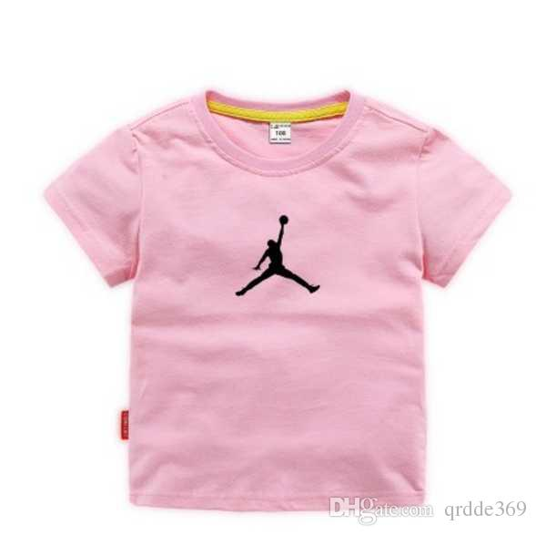 new children's clothing men's and girls' t-shirts comfortable and breathable super nice look postal printing