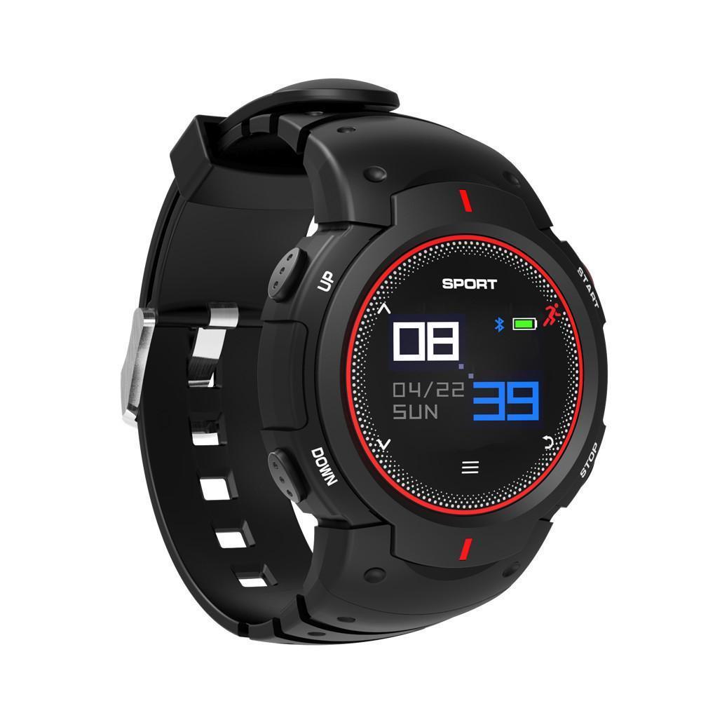 Mens New Multi-Mode Sports Shockproof Smart Bracelet Pedometer Fitness Tracker Message Push Sleep Mornitor Watch Bracelets Gifts for Men