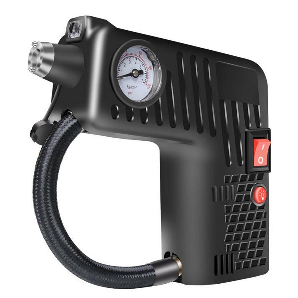Car Air Compressor Pump Portable Handheld Car Tire Inflator Electric Air Pump12V Repair Tool Accessories