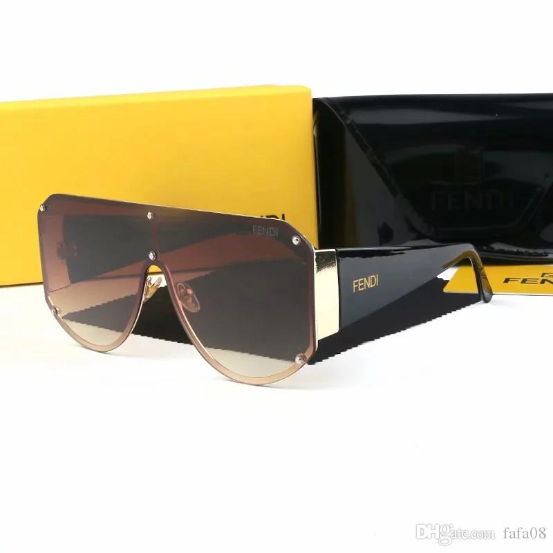 8807 Modedesigner Sonnenbrille klassisch Retro Pilot Rahmen Glaslinse UV400 Schutzbrille mit Box