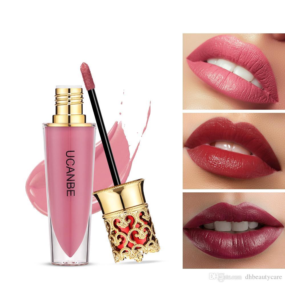 Brillant a levres liquide mat mat 6 couleurs Hydratant Durable nutritif New Crown Lipstick Naturel quotidien lèvres Maquillage
