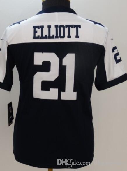 Gençliğin Dallass 4 9 19 21 50 55 82 88 Jersey Gömlek Erkek Çocuklar Kız Amerikan futbolu formaları Buhar Dokunulmaz Sınırlı Jersey