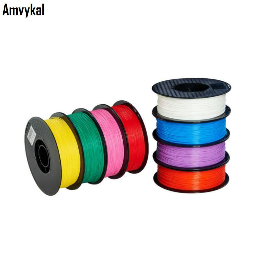 Toptan Yüksek Kaliteli 3D Yazıcı 1.75mm PLA Filament 1 KG 3D Baskı PLA Filament Anti-Etkili Mukayeti Malzemesi Hızlı Kargo