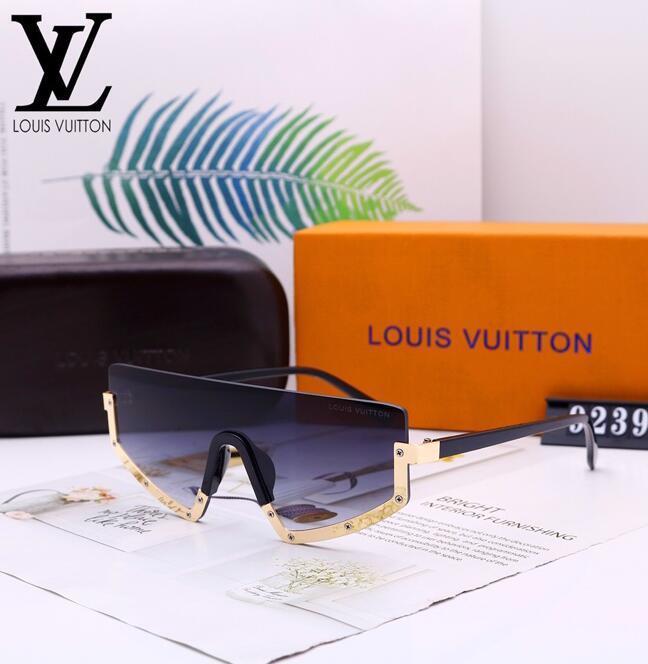 Mejor sol lente de cristal de calidad gafas de marco de oro de la manera azul del espejo gafas de sol para hombres y mujeres UV400 Sport gafas de sol