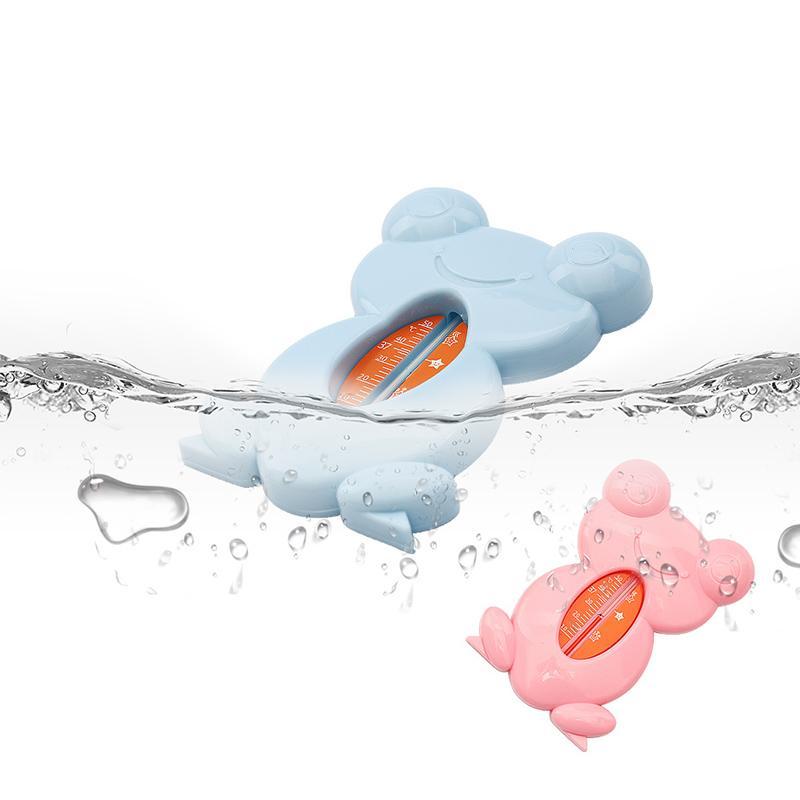 Cartoon flottant Belle Grenouille bébé température bébé eau Thermomètre de bain bébé mètres Jouets d'enfants bain humide et sec capteur d'eau Thermomètre