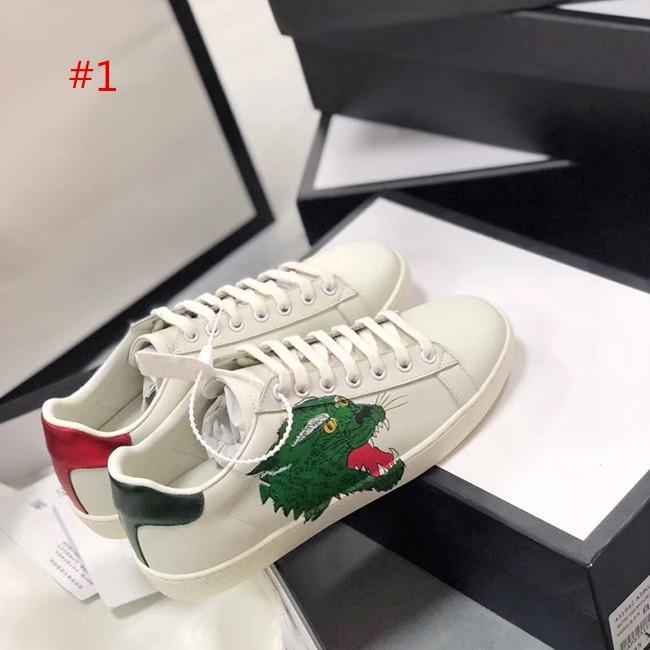 qualité de la mode Chaussures de luxe Triple Noir Chaussures Blanc Pour Homme Femme Designer Flats Chaussures de skate Casual Luxe Robe étoile Vintage Chaussures SIZ