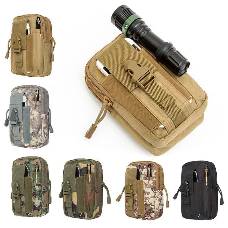 Sport Taschen Männer Tactical Belted Taschen Military Hüfttasche Lauf Beutel Freizeit Brieftasche im Freien Tarnung Tasche Klettern peridiol
