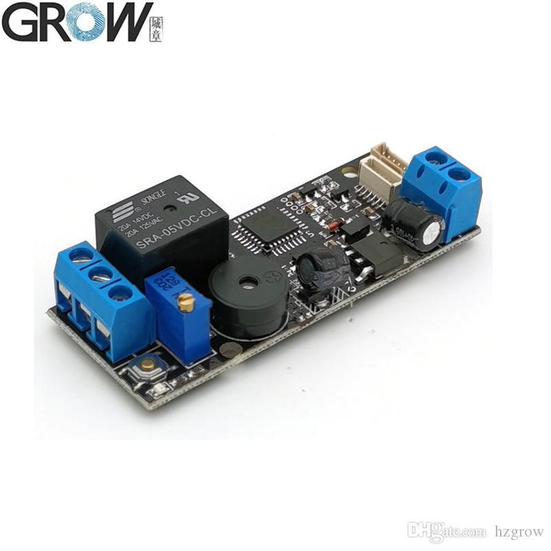 CRESCERE consumo K202 DC12V di potere basso pulsante girevole relè Fingerprint Control Board interruttore Fingerprint Access Control System