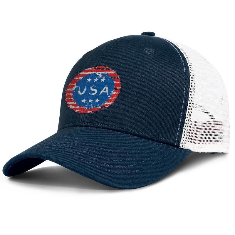 Mini sanat amerikan bayrağı işareti army_green mens ve bayan kamyon şoförü kap beyzbol serin donatılmış Hipster şapkalar