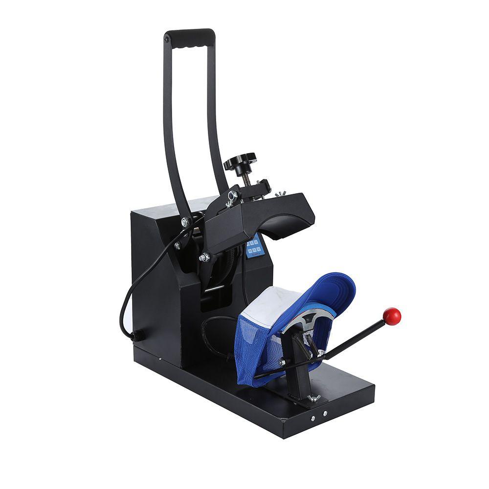 الجديد في 8 * 14 سم قبعة الصحافة آلة التسامي طابعة آلة نقل الحرارة لقبعة الطباعة