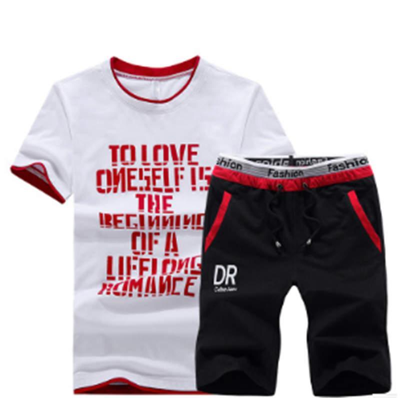 Kadınlar Tasarımcı Eşofman T Gömlek + Şort Yaz marka eşofman Koşucular Lüks tişörtleri Suits Nefes Tees Printed4