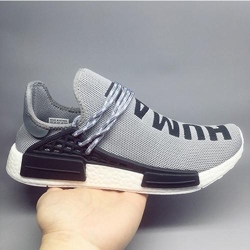 2020 NMD razza umana Scarpe uomo casual Williams Campione Giallo nucleo nero Sport Designer Scarpe Donna Sneakers 36-47 Senza Box