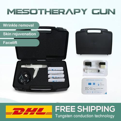 Cuerpo cuidado de la piel meso inyector mesoterapia pistola cara de múltiples inyección de la aguja pistola meso meso inyector contra tipo de envejecimiento precio pistola de mesoterapia