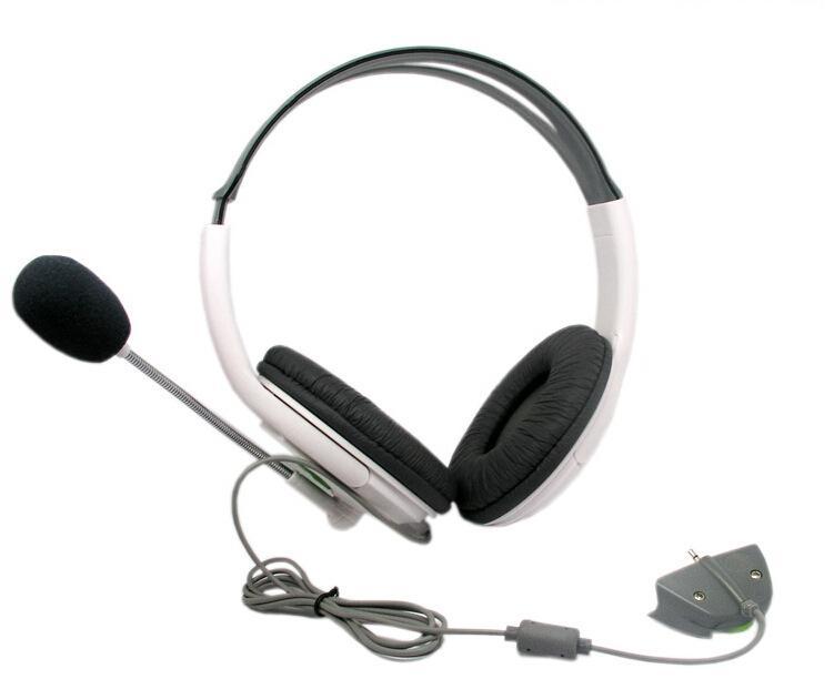 سماعة سلكية كبيرة للألعاب سماعات العاب كلاسيكية ستيريو سماعة أذن 2.5 مم AUX لعبة سماعة رأس مع ميكروفون لأجهزة إكس بوكس 360