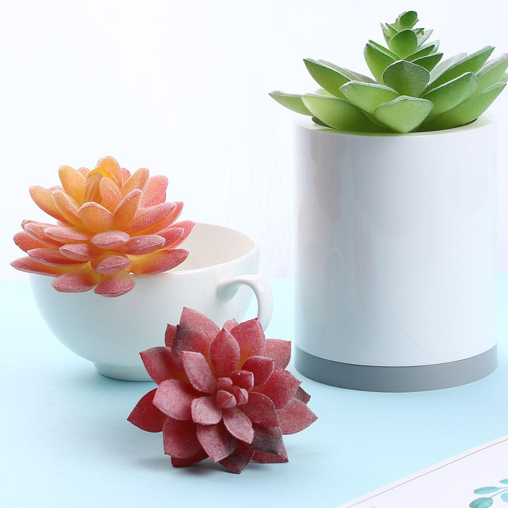 Artificial Succulents Plant Garden Miniature Fake Cactus DIY Home Floral Decor Wedding/Home/Office/Garden decoration accessories