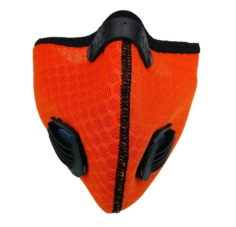 Máscara livre DHL navio! Ciclo Filtro Cigpt 5 Camada Adulto inserção de protecção Mat Boca substituível Cara preta s PM2.5 Dispo QA94E8