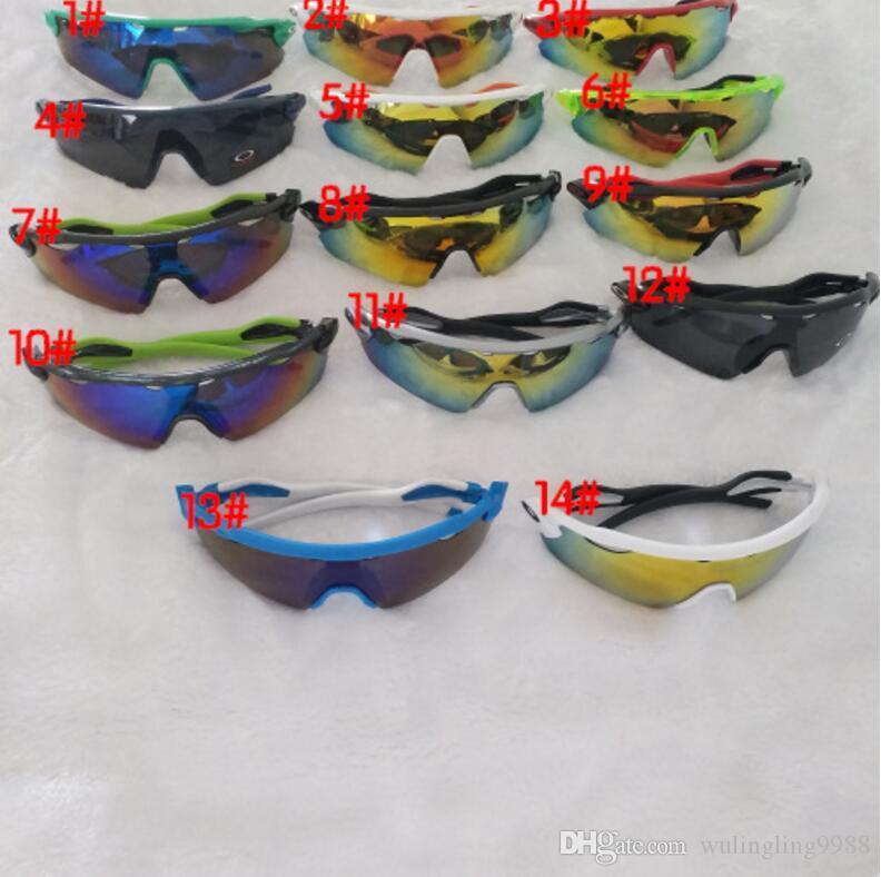 العلامة التجارية الجديدة الصيف رجل الرياضة الدراجات نظارات نظارات النساء دراجة حملق نظارات الرياضة النظارات في الهواء الطلق الألوان نظارات الشمس 15 اللون