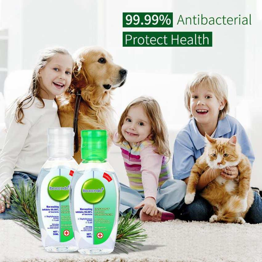 50ml 55ml Travel tragbare Hand Sanitizer Gel Effektive Desinfektion Handreiniger Einweg-Rinse Freies Gel Hand Sanitizer ZZA1980