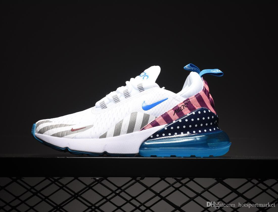 Compre Nike Air Max 270 27c Airmax 2019 Air Cushion Sneaker Designer Casual Shoes Trainer Off Road Star Iron Sprite Tomate Hombre General Para Hombres