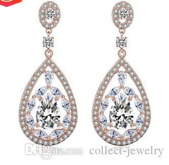 귀족 다이아몬드 크리스탈 레이디의 earings (23.76) hygh