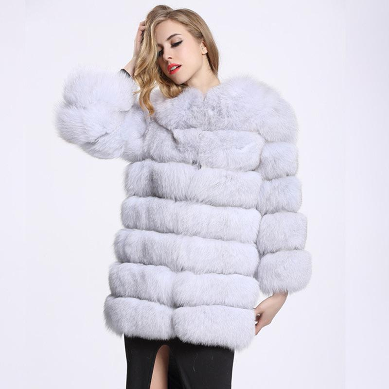 ZADORIN 2019 Winter Luxury Long Mink Coats Women Warm Faux Fur Coat Plus Size Fluffy Fur Jacket Bontjas Coats abrigo piel mujer