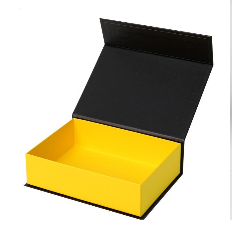 مخصص مغناطيس هدية مربع التعبئة والتغليف ورقة مربع جامد مربع مع شعار عالية الصف غلاف