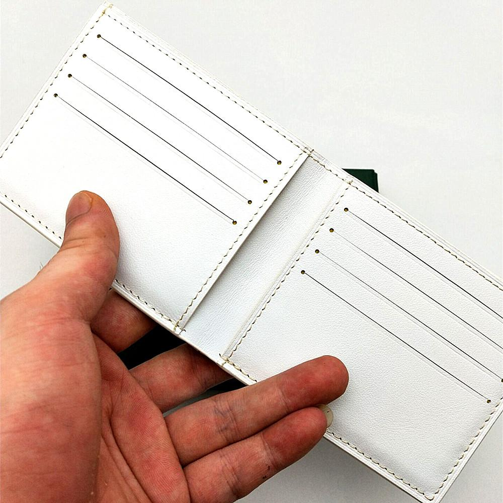 Küçük Cüzdan Kaplamalı Mens Kısa Cüzdanlar Kaplamalı Çoklu Deri Bifold Tuval Kağıt Kutusu Hakiki Çanta Erkekler ve HCoug