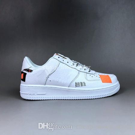 Acheter Nike Air Force Just Do It 2019 Air Just Do It Chaussures De Course Pour Homme 1 Sneakers Femme Marque Utilitaire Skateboard Forcé Un Sport