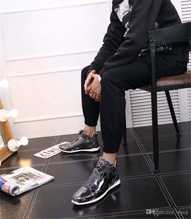 2020 탑 한국 유행 패션 디자이너 S 신발 실버 골드 블랙 반짝이 밝은 밝은 씨 세련된 레드 카펫 선호 품질 신발