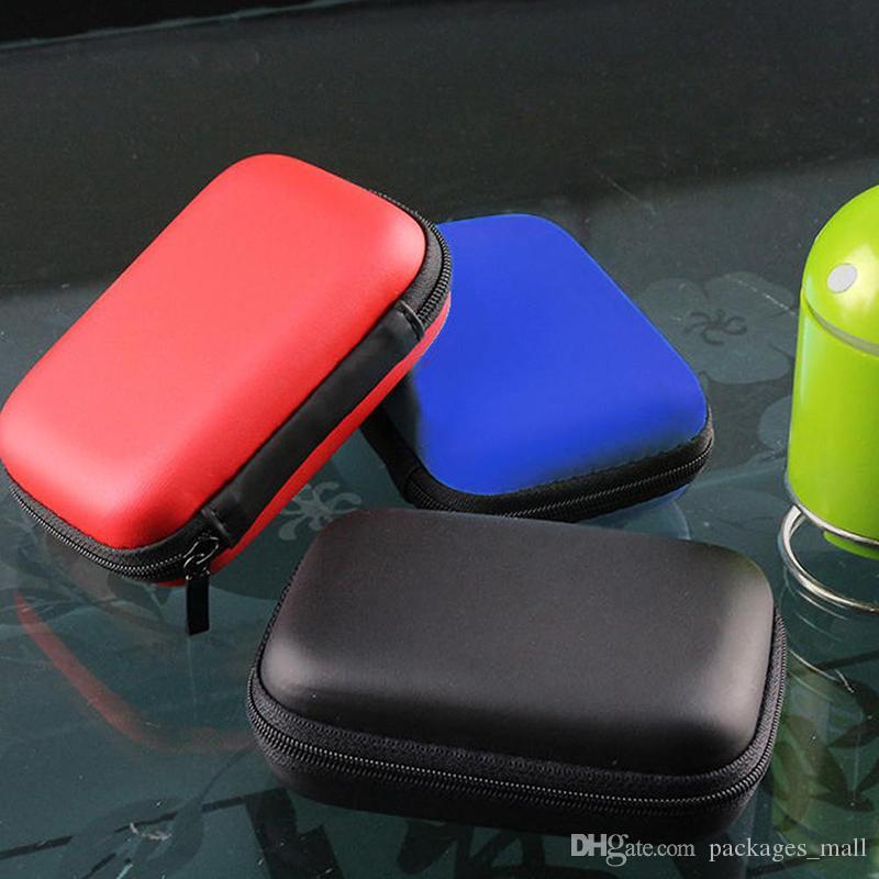 2.5 بوصة USB HDD حقيبة الخارجية القرص القرص الصلب كاري البسيطة كابل الناقل التسلسلي العام الحقيبة غطاء سماعة حقيبة لأجهزة الكمبيوتر المحمول القرص الصلب حالة جديدة