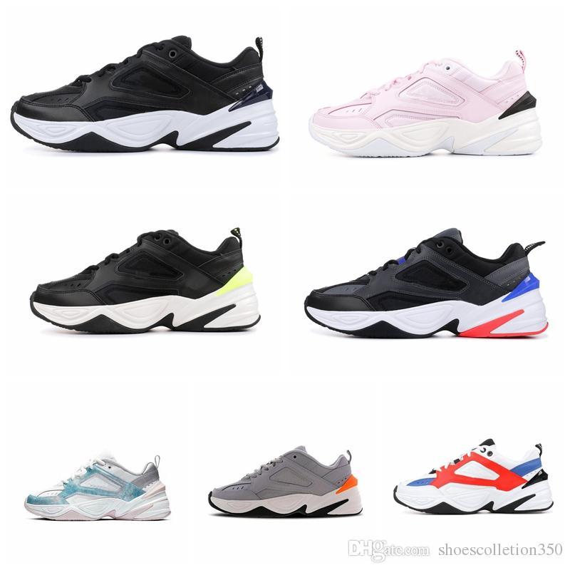 Nike M2K 2019 mais novo M2K tekno papai para homens das mulheres sneaker amante do ar ao ar livre calçados esportivos de jogging