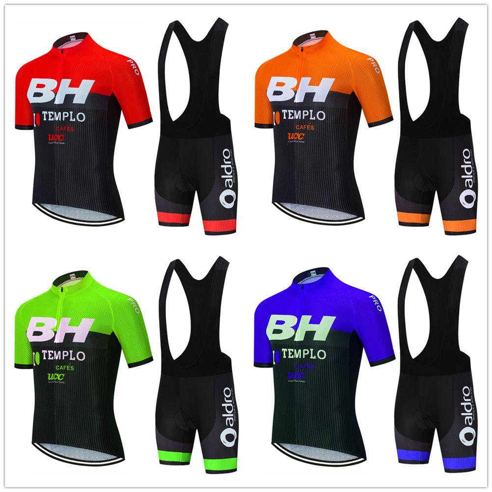 Cyclisme Jersey 2020 fixé PRO TEAM BH vêtements vélo hommes / femmes d'été Cuissard jersey vélo respirant VTT kit Ropa Ciclismo