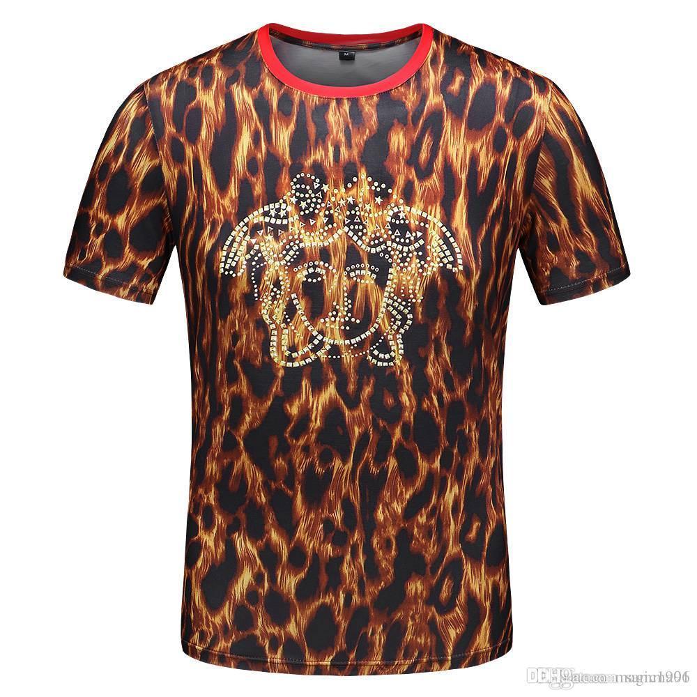 20 SS Yaz tişört Marka Tasarımcı tişört, Moda Yüksek Kalite Baskılı Kısa Kollu Nefes% 100 Pamuk Siyah ve Beyaz tişört WX1
