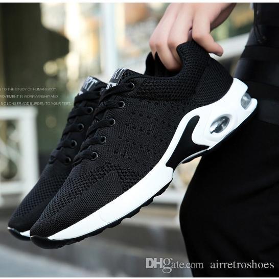 Sigara marka yüksek kaliteli Beyaz Düşük Siyah Gray rahat Ucuz nefes alabilen kadın erkek spor spor ayakkabıları 35-45 Stil 16 Koşu ayakkabıları mavi Men kesti
