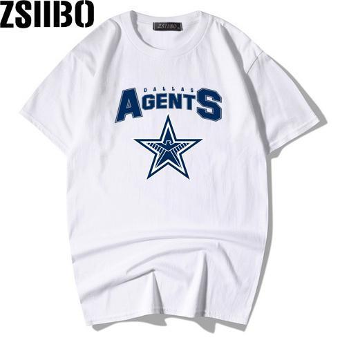 2019 moda novo Agente imprimir a camisa dos homens da aptidão camisola do estilo XL Harajuku T-shirt de manga curta MC105 sweatshirt