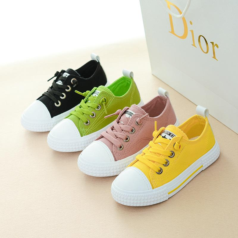 Children Canvas Shoes Sport Breathable Boys Sneakers Brand Kids Shoes for Girls Jeans Denim Casual Child Flat Canvas Shoes