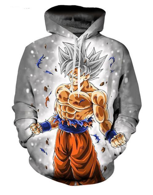 New Womens//Mens Dragon Ball Z Goku 3D Print Casual Hoodies Sweatshirt Pullovers